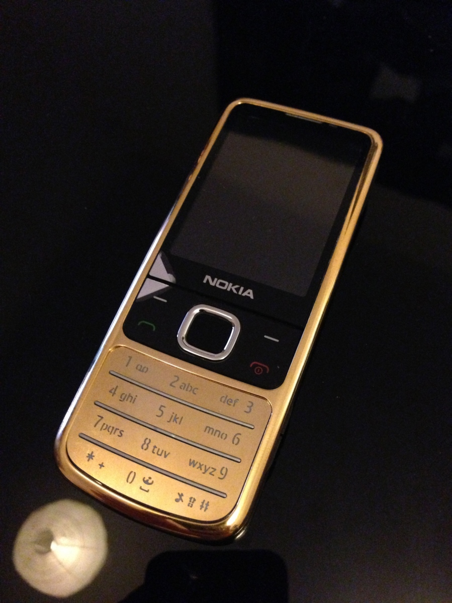 24ct Gold Nokia 6700 Luxury Mobile Phone