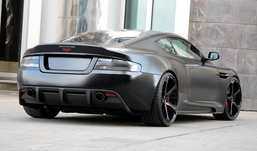 Matte Black Aston Martin Bossluxury Luxury News - Black aston martin