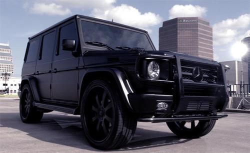 Matte Black Mercedes G Wagon Bossluxury Luxury News