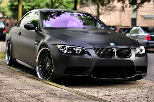 Matte Black Bmw E90 M3 Not To Be Underestimated