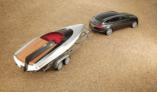 jaguar concept sped boat