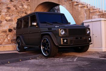 mercedes g wagon matte black. black stealth mercedes g-wagon, so subtle its outrageous. certified \u201cboss luxury g wagon matte |
