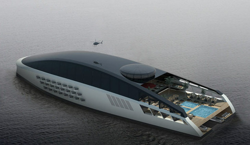5 billion pound mega boat