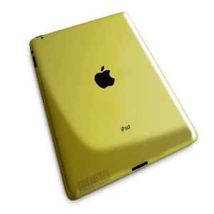 Gold plated apple iPad 3
