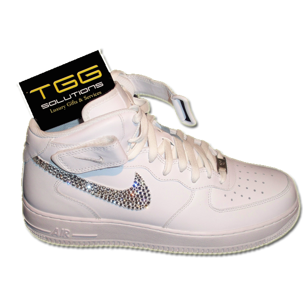 nike air force one swarovski  7284ab632a55