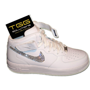 nike air force one swarovski