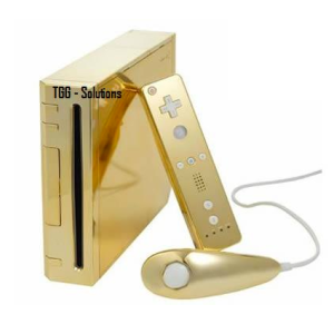 24ct gold nintendo wii