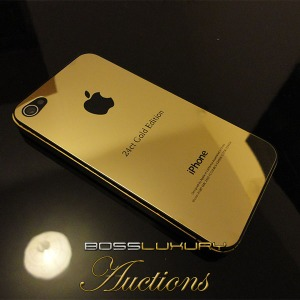24ct gold iphone
