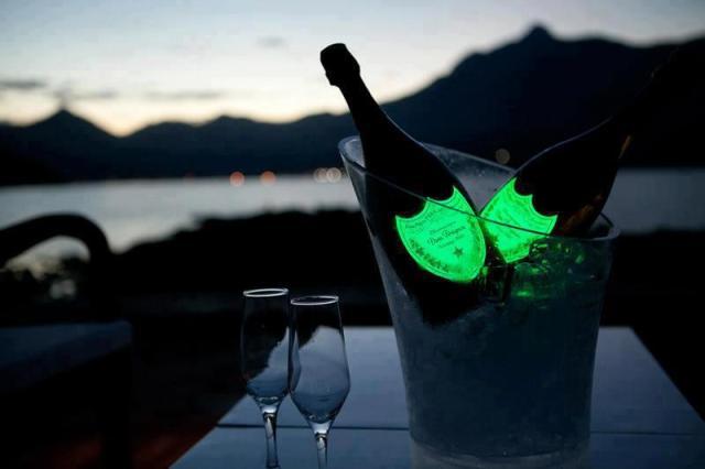 Dom perignon luxury champagne
