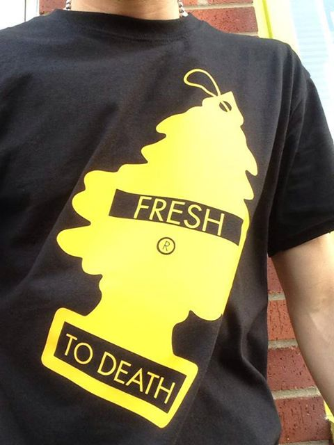 fresh to death t shirt