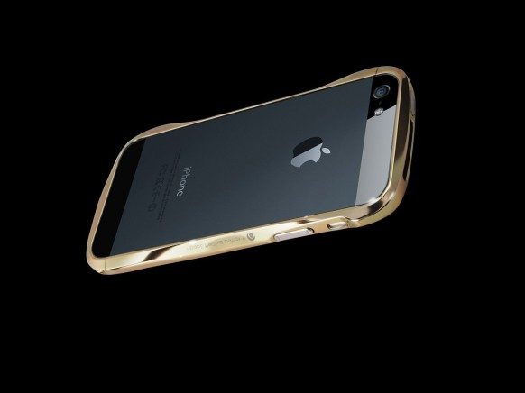 gold designer iphone 5 case