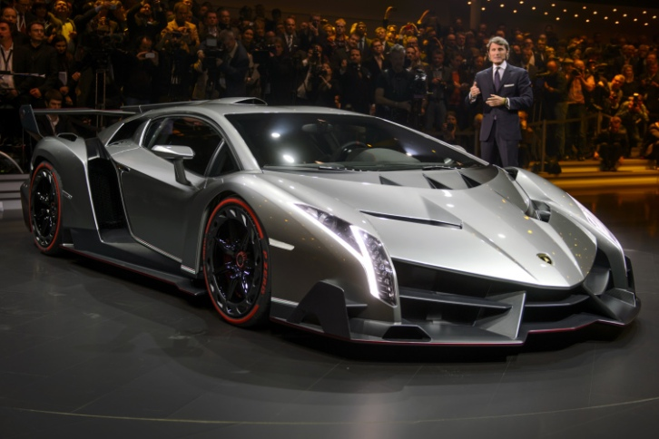 The new Lamborghini Veneno