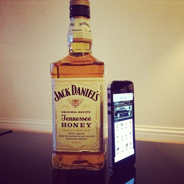 jack daniels Tennessee honey