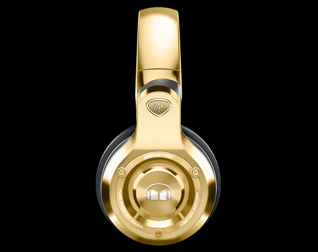 24kt gold plated monster Beats By dre headhpones
