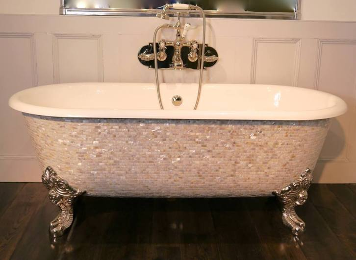 Mosaic bath luxury