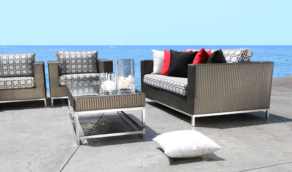 stainless steel patio furniture