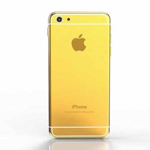 gold plated apple iphone 6