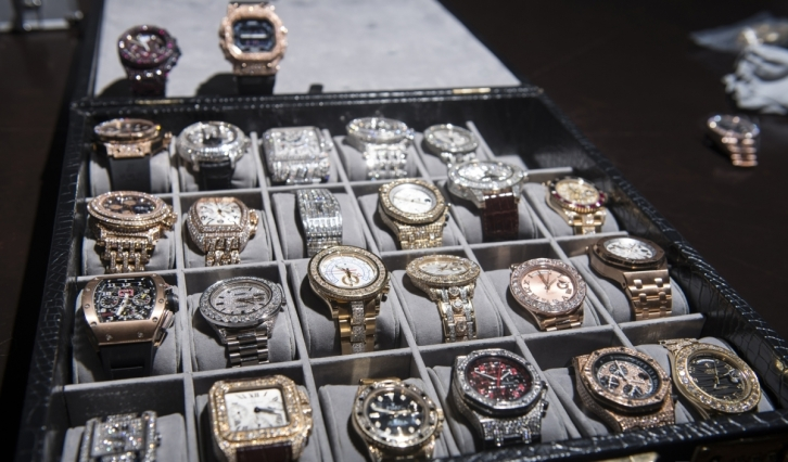 floyd mayweather watch collection