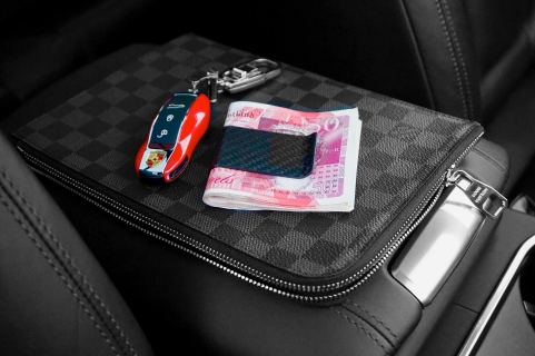 coloursplash carbon clip porsche key lv case